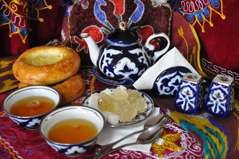 Чай и чайные традиции в узбекистане