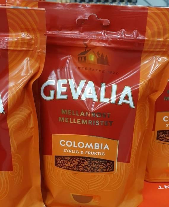 Кофе gevalia (гевалия)