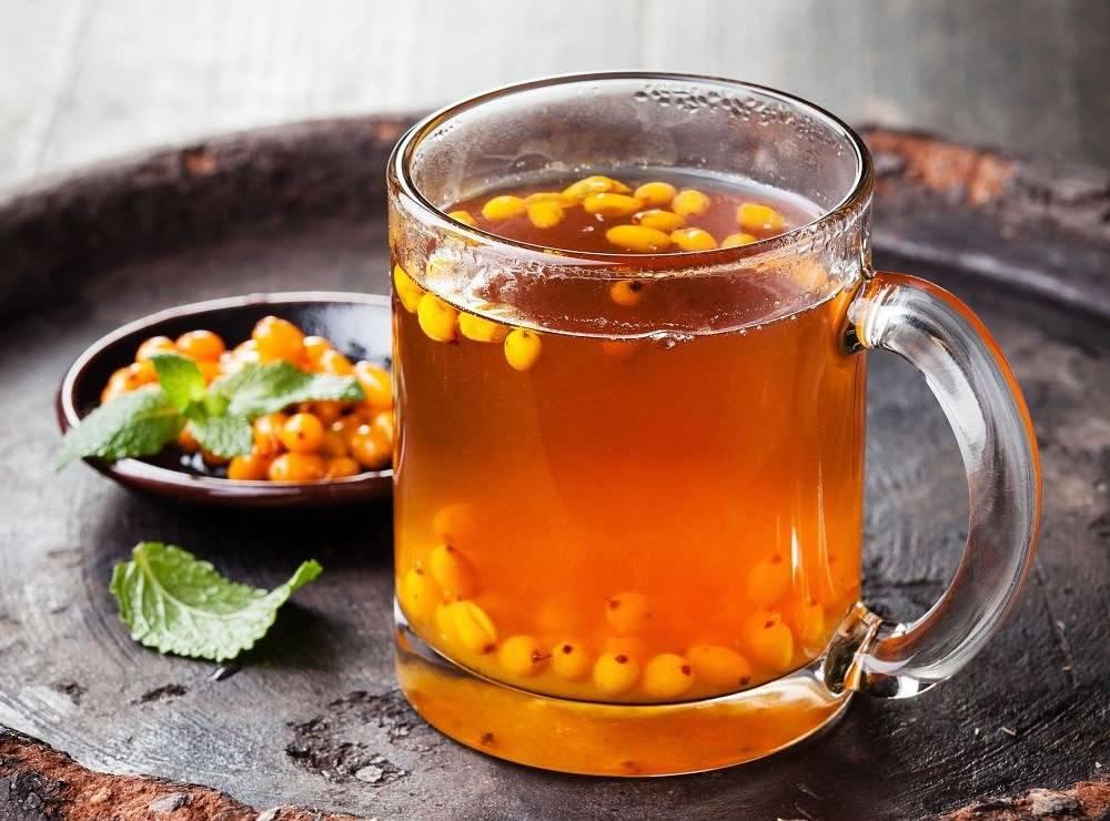 Как приготовить облепиховый чай, лучшие рецепты