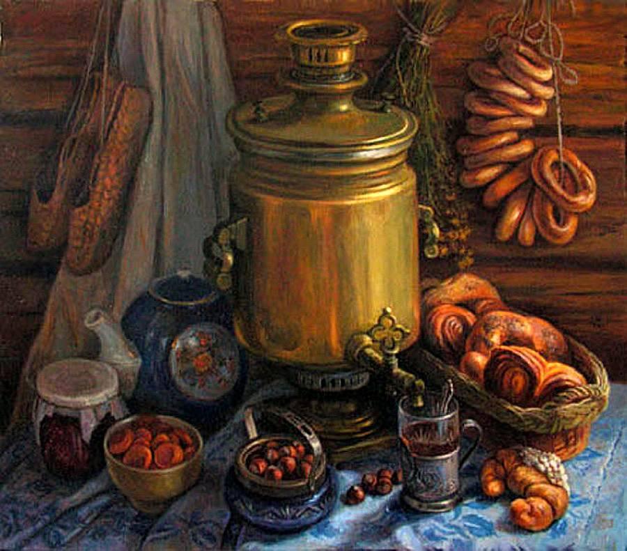 Особенности русского чаепития
