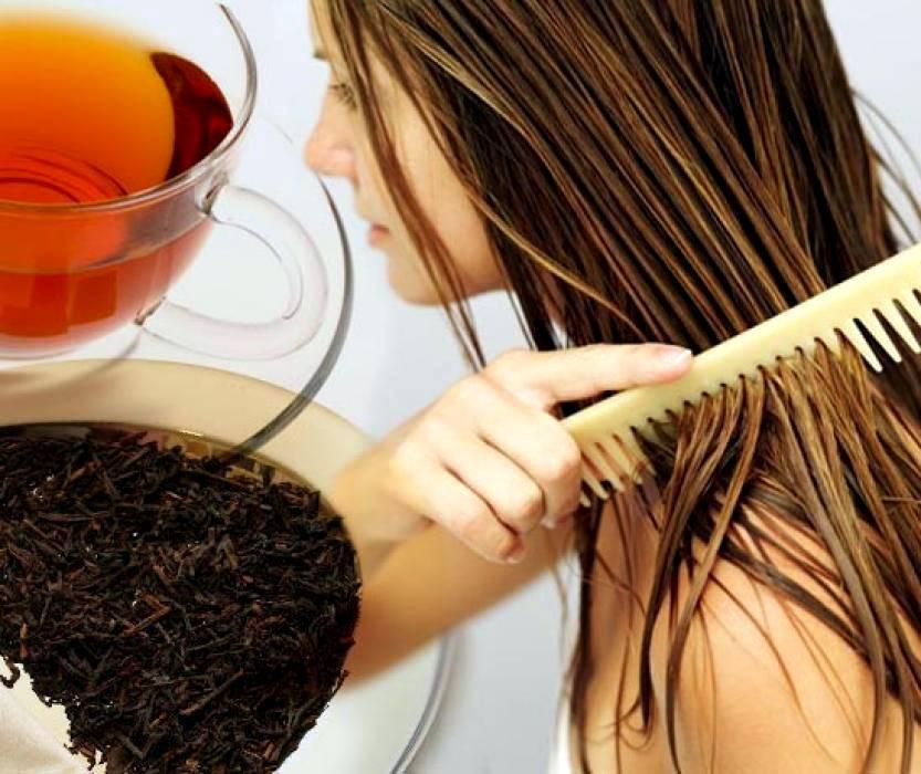 Способы покрасить волосы чаем, кофе и какао