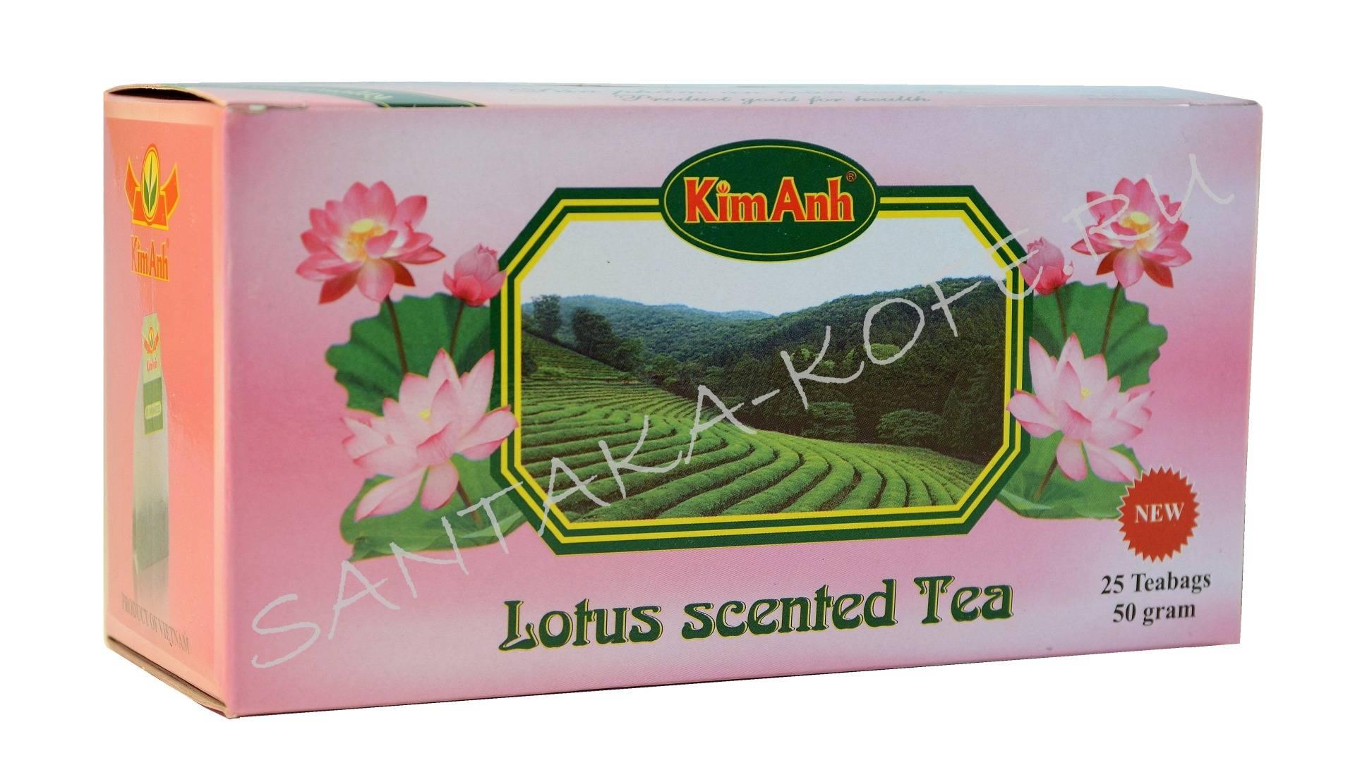 Чай из лотоса
