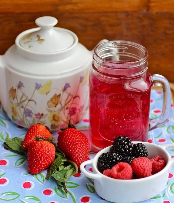 5 интересных рецептов вкусного фруктового чая