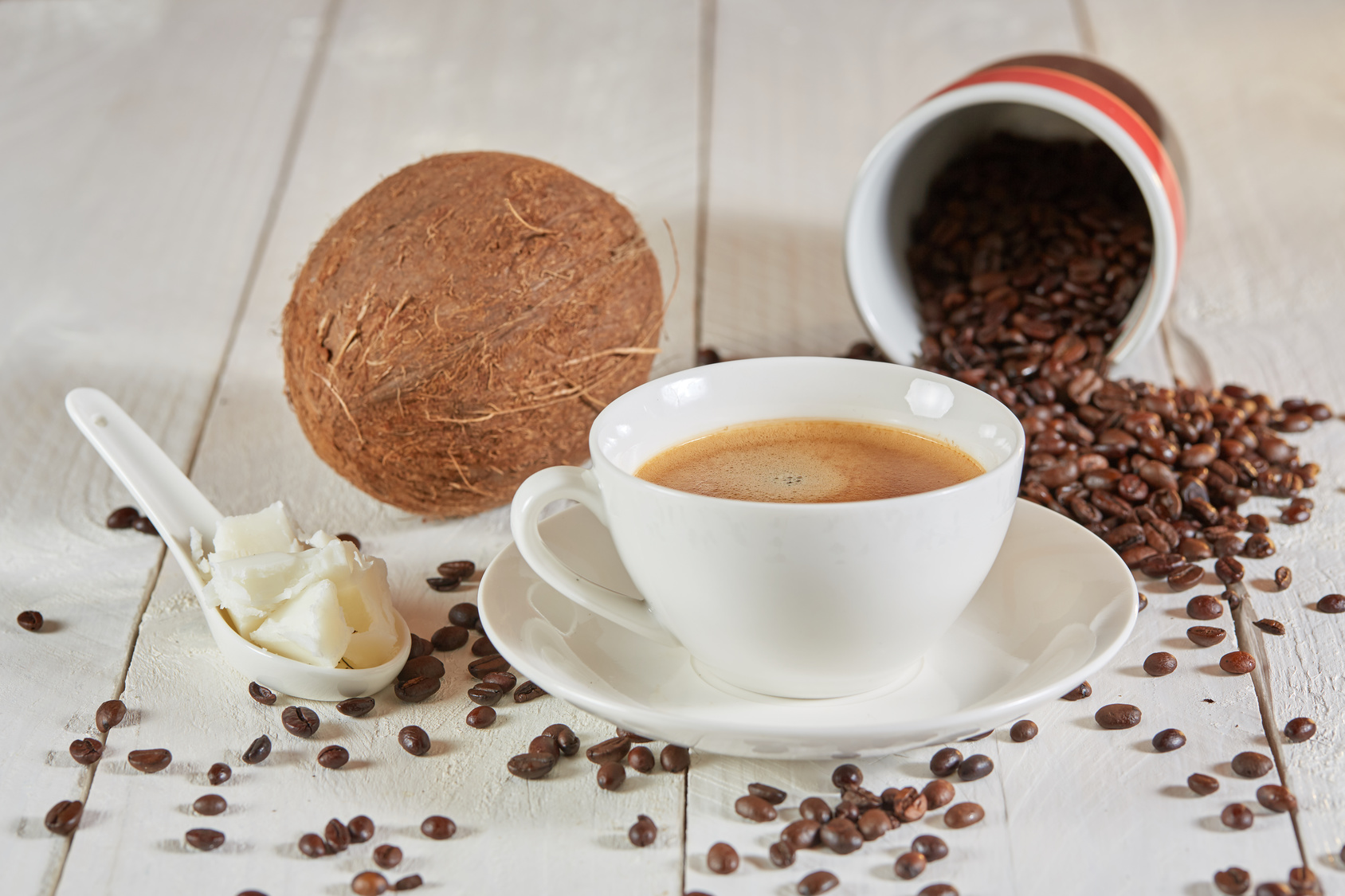 Кофе с кокосовым молоком – 5 рецептов приготовления для дома