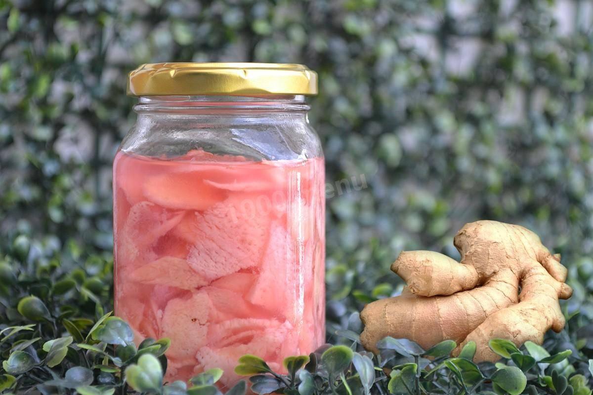 Как хранить корень имбиря в свежем виде, маринованном или сушеном