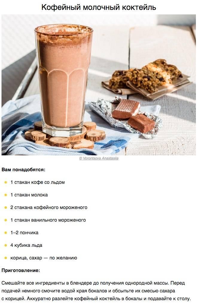 Холодные кофейные напитки (на основе кофе), рецепты их приготовления