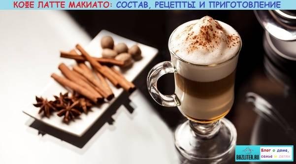 Рецепты приготовления макиато