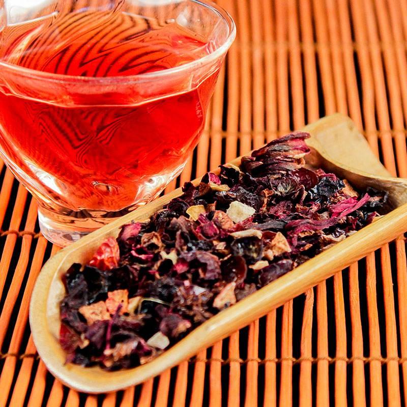 О пользе ягодного чая и рецепты приготовления