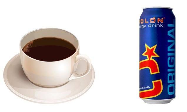 Что будет, если смешать кофе с энергетиком
