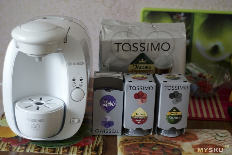 Капсулы многоразовые для кофемашины тассимо   портал о кофе
