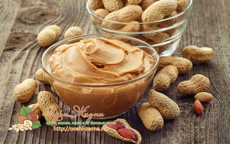 Арахисовая паста польза вред калорийность