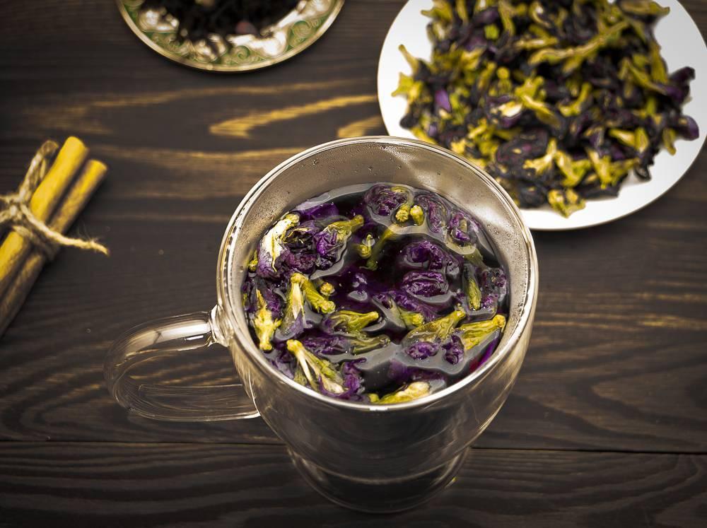 Синий чай — польза и возможный вред | польза и вред