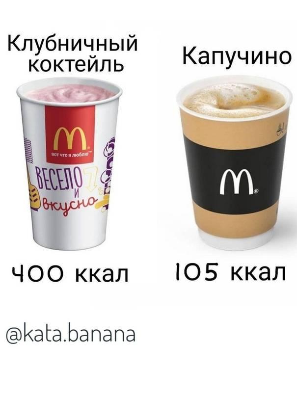 Почему капучино калорийный. видео: калорийность кофе, какой лучше? калорийность одной чашки кофе капучино без сахара