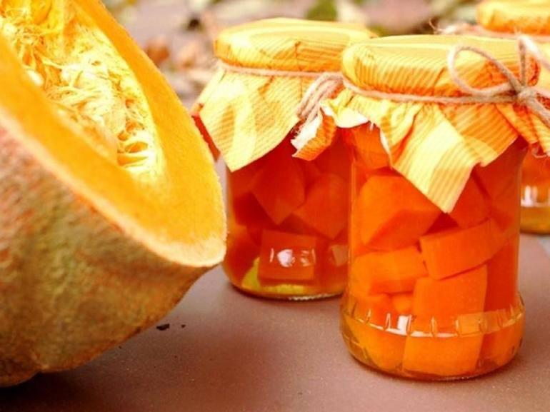 Компот из тыквы на зиму как ананас и другие рецепты