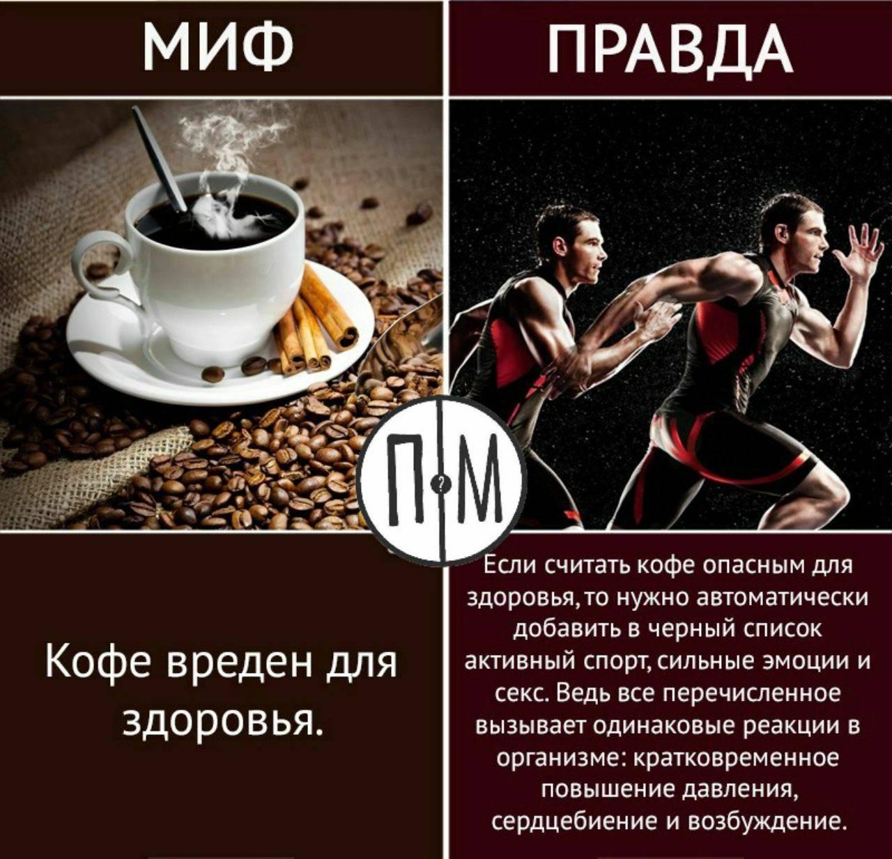 9 мифов о кофеине, в которые стыдно верить - лайфхакер