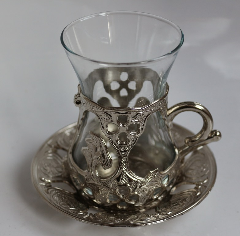 Турецкие чашки (стаканы, чайник, бокалы) для чая - армуды