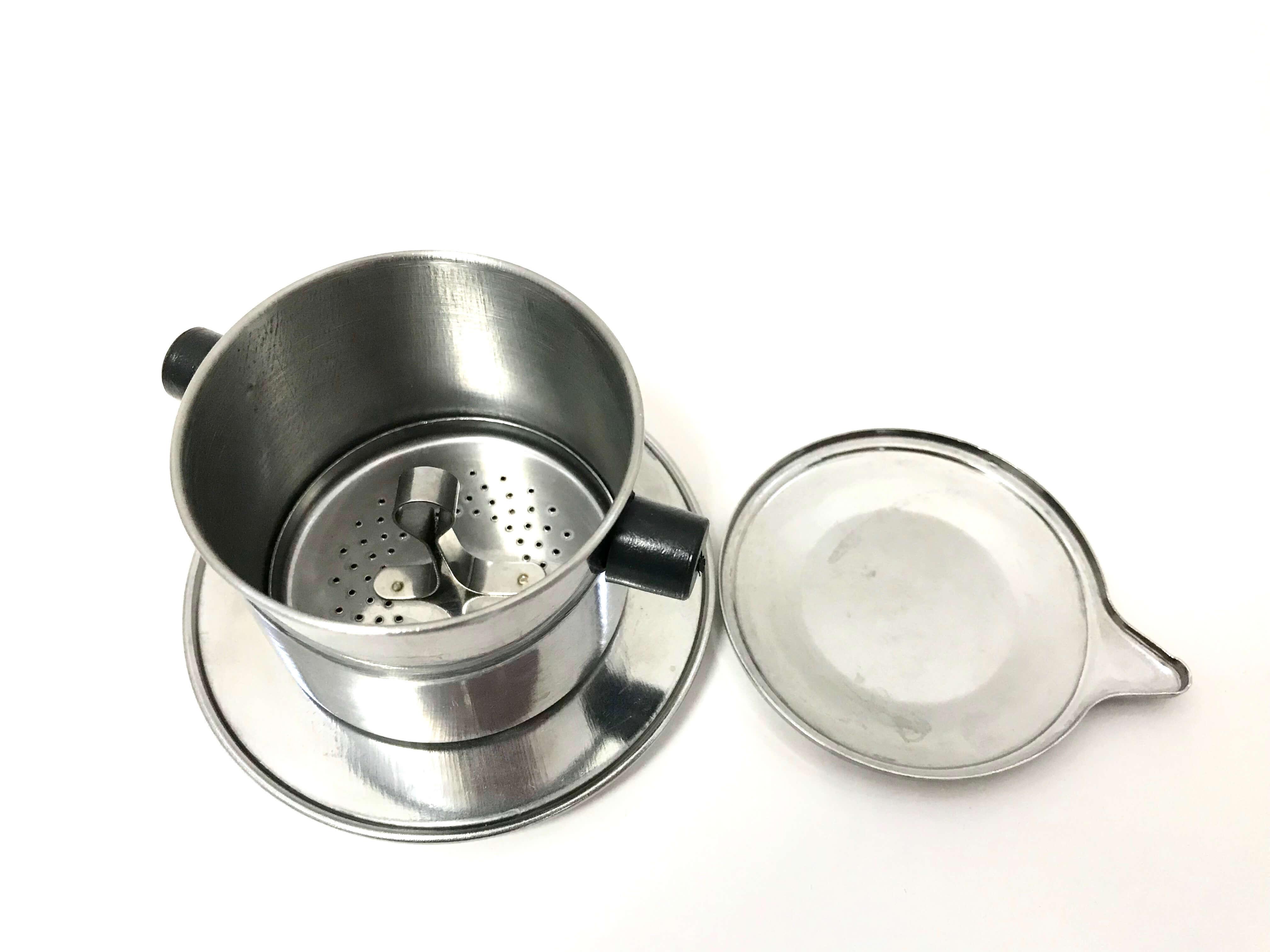 Пресс-фильтр для кофе по-вьетнамски (фин): как заваривать в чашке