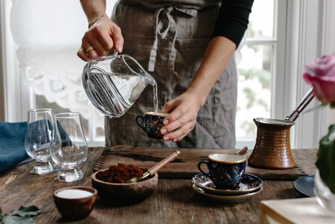 Набор для приготовления кофе на песке