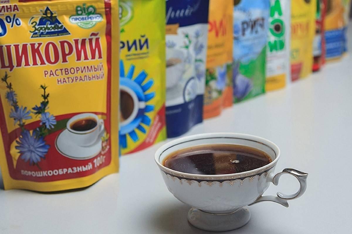 Кофе и цикорий: польза и вред для здоровья обоих напитков, что полезнее