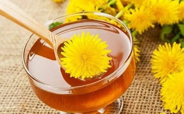 Чай из цветков одуванчика польза и вред