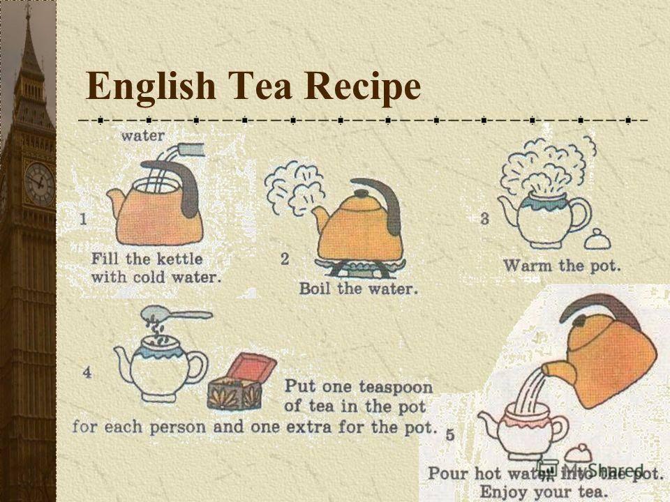 Рецепт чая из страны туманного Альбиона