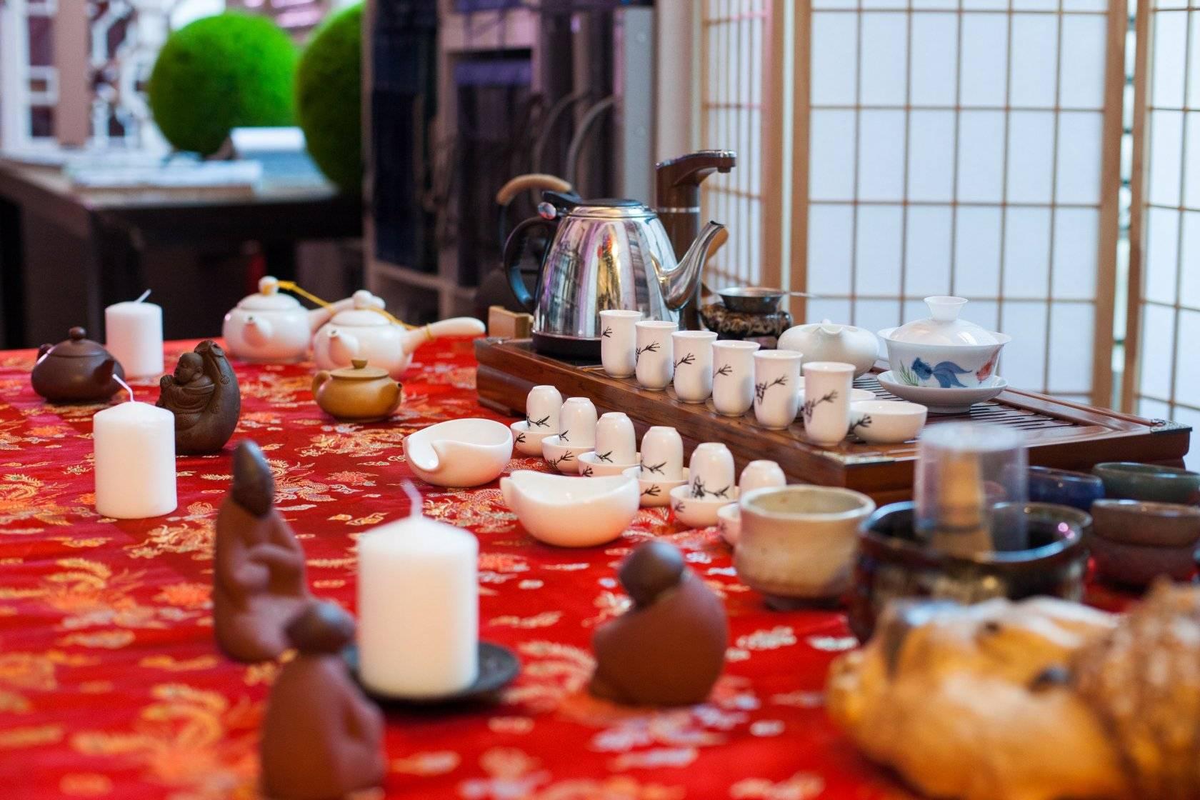 Китайская чайная церемония гун фу ча