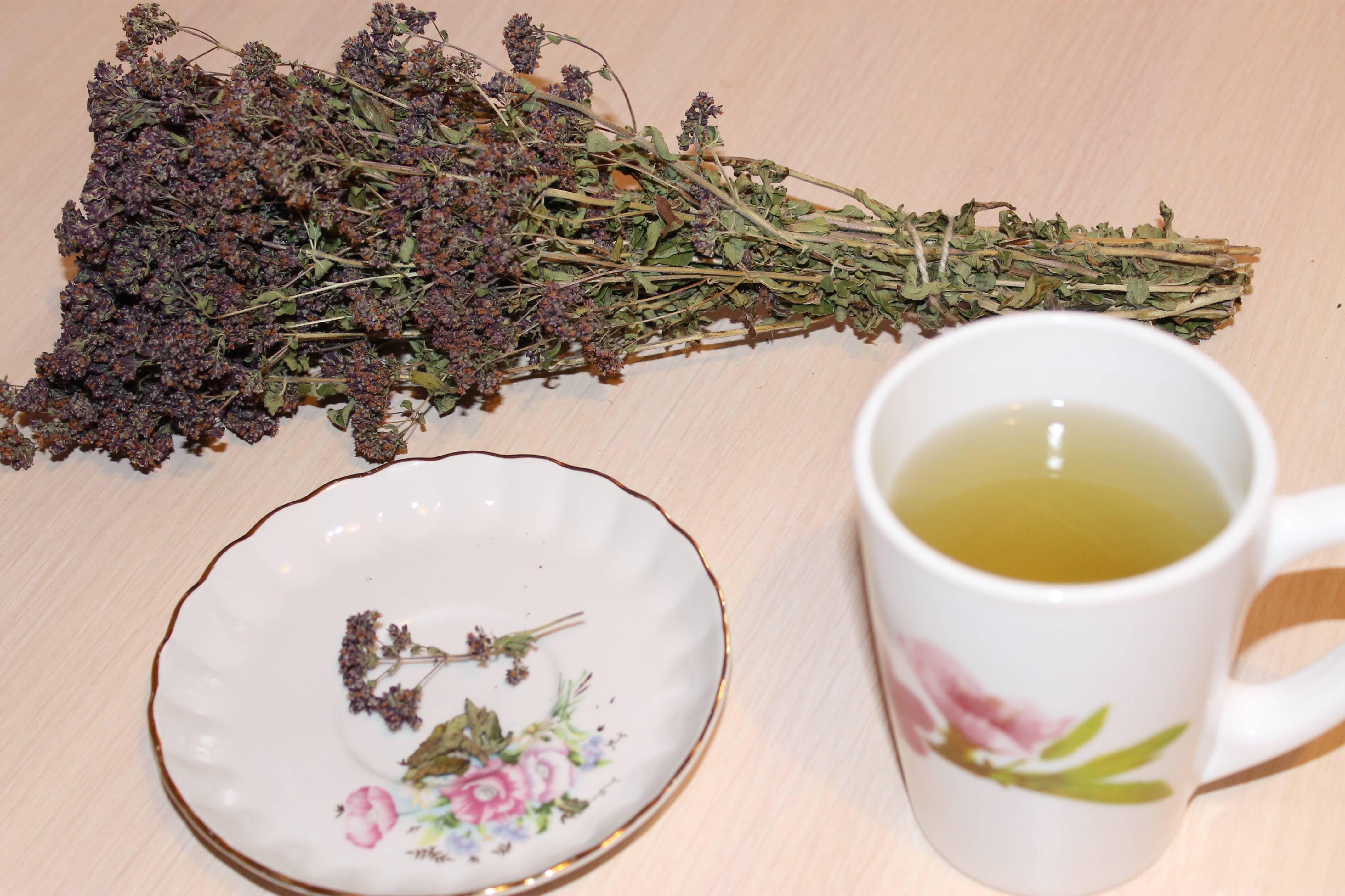 Чай с травами