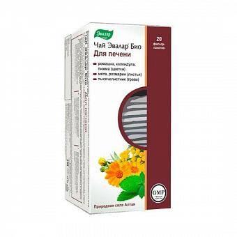 Успокоительный чай эвалар био для