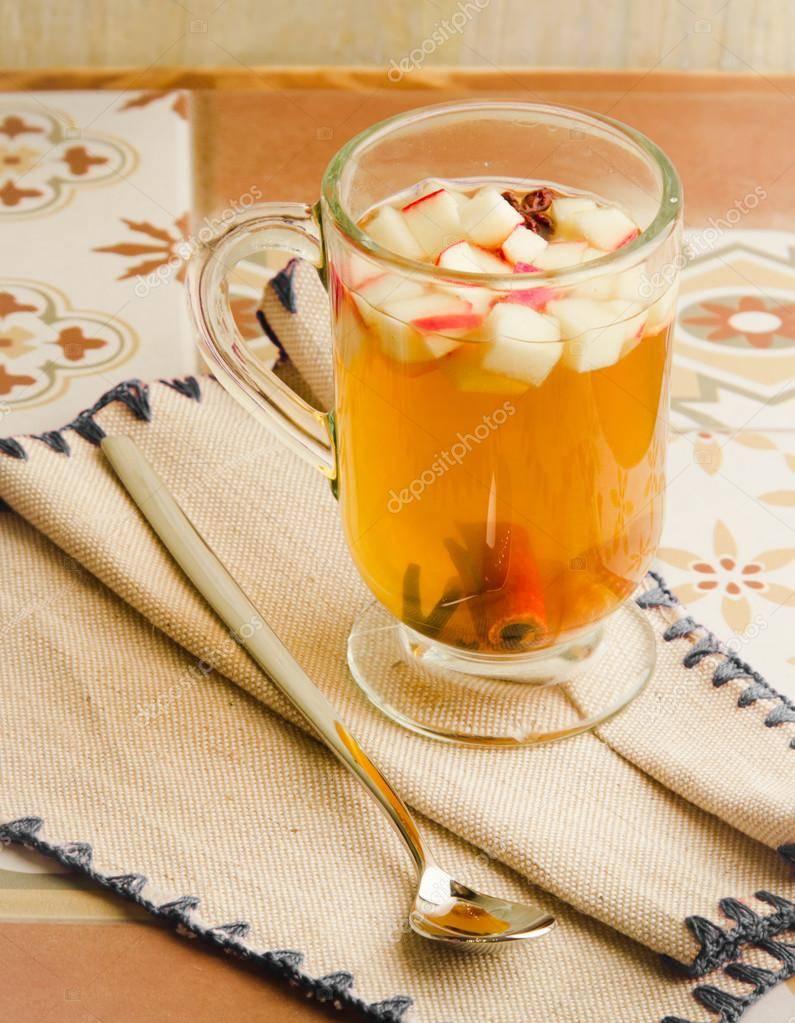 Яблочный чай: рецепты приготовления