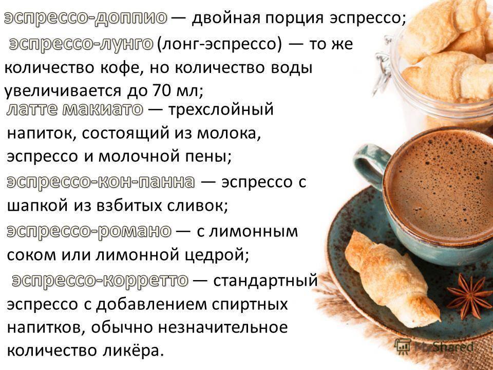 Эспрессо и кофе разница, рецепт, как готовить кофе эспрессо
