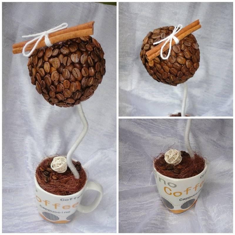Этапы изготовления кофейного дерева (топиария) своими руками, мастер-классы