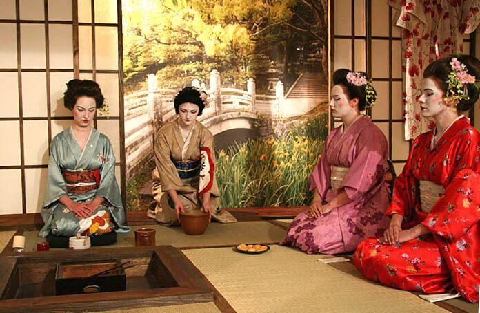 Чайная церемония в японии    японская посуда для чайной церемонии   японские традиции чаепития   приготовление чая в японии