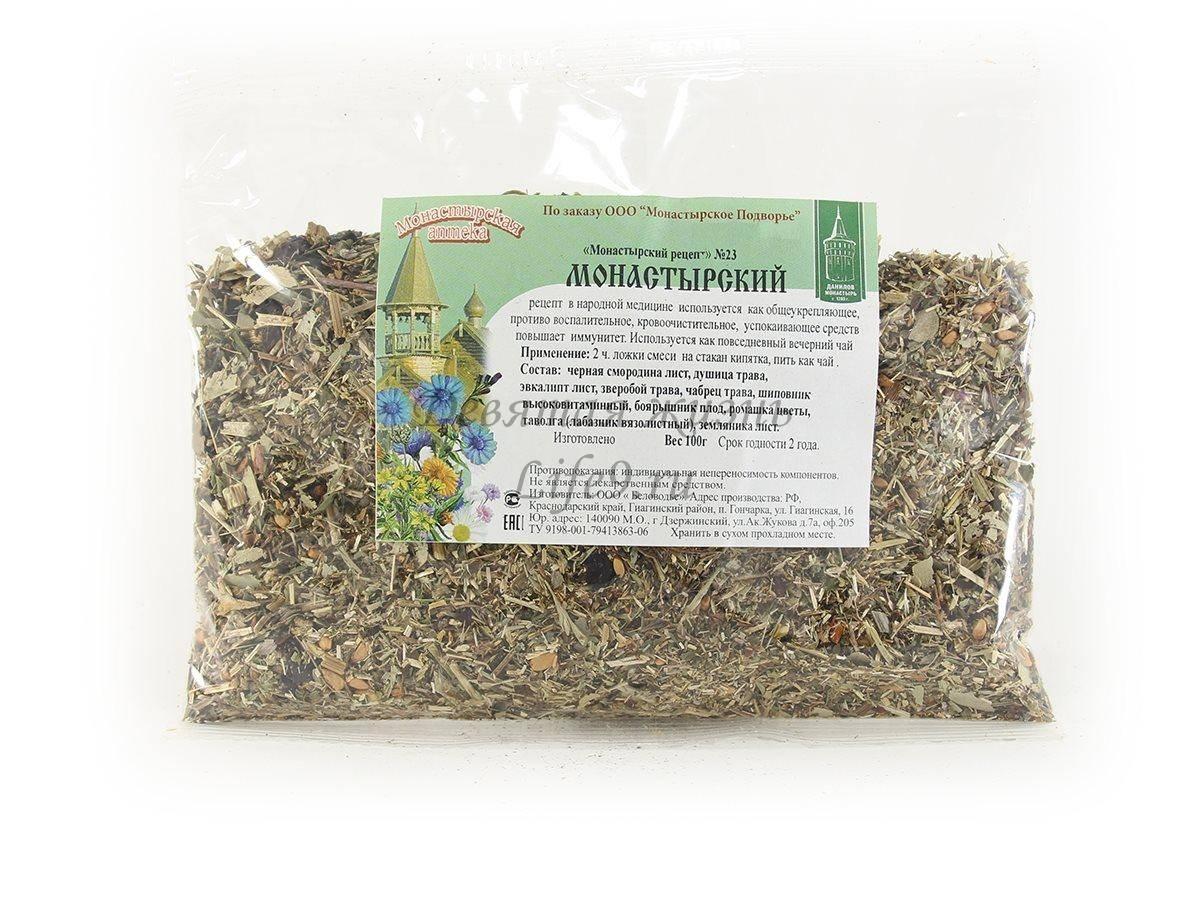Монастырский чай – состав, как приготовить в домашних условиях