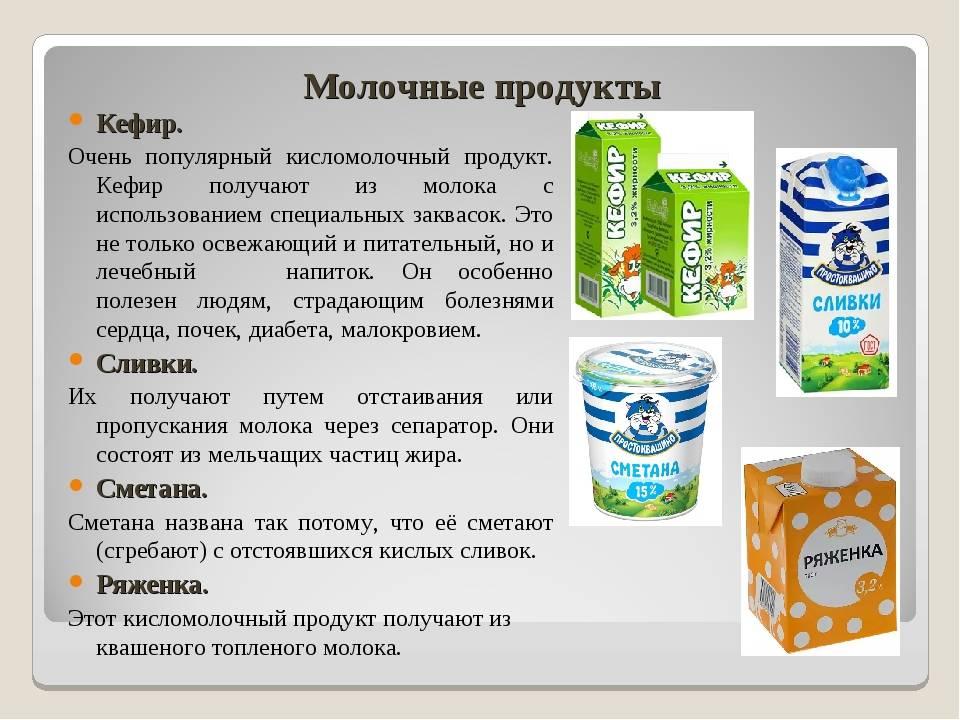 Кефир и молоко – что в них общее и чем они отличаются? | в чем разница