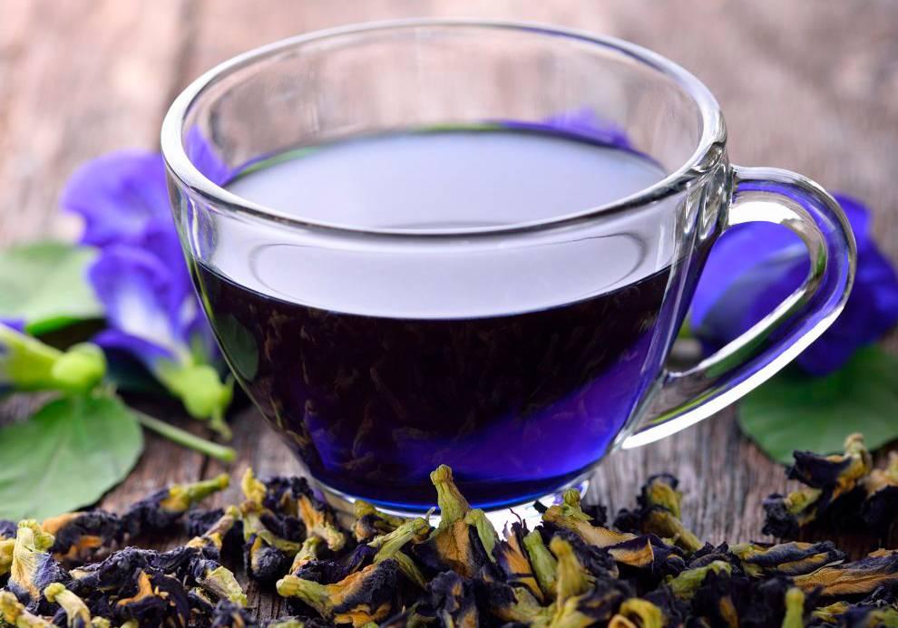 Отзывы о синем чае анчан