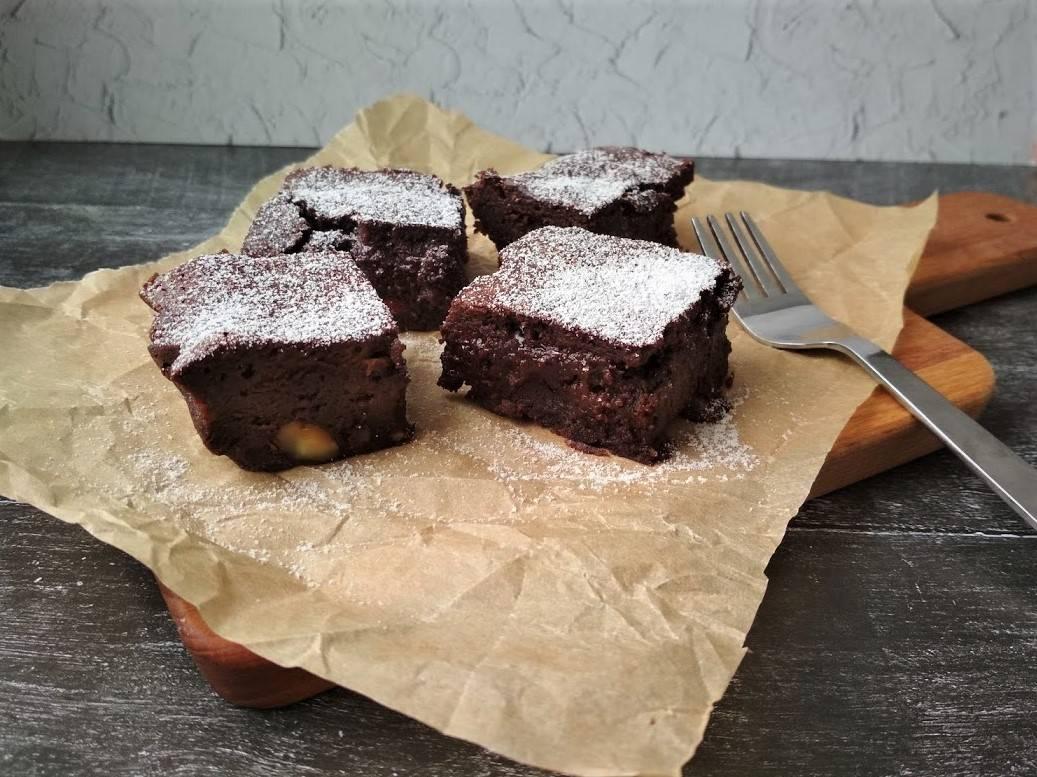 Брауни с какао (без шоколада) - пошаговый рецепт с фото    выпечка