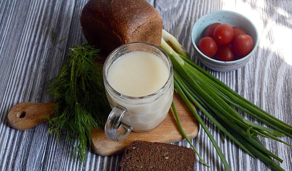 Домашний белый квас – классический рецепт из ржаной муки