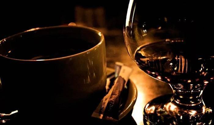 Кофе с коньяком: в чем польза?