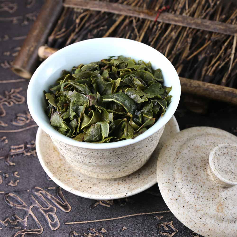 Китайский чай тигуанинь с успокаивающим эффектом