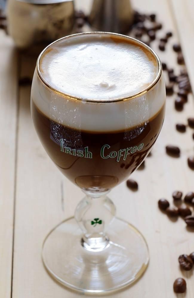 Коктейль ирландский кофе — единственный в своём роде
