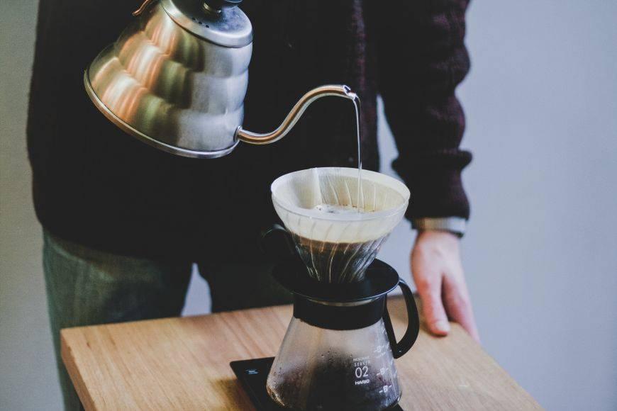 Как заваривать кофе методом пуровер, что понадобиться при приготовлении