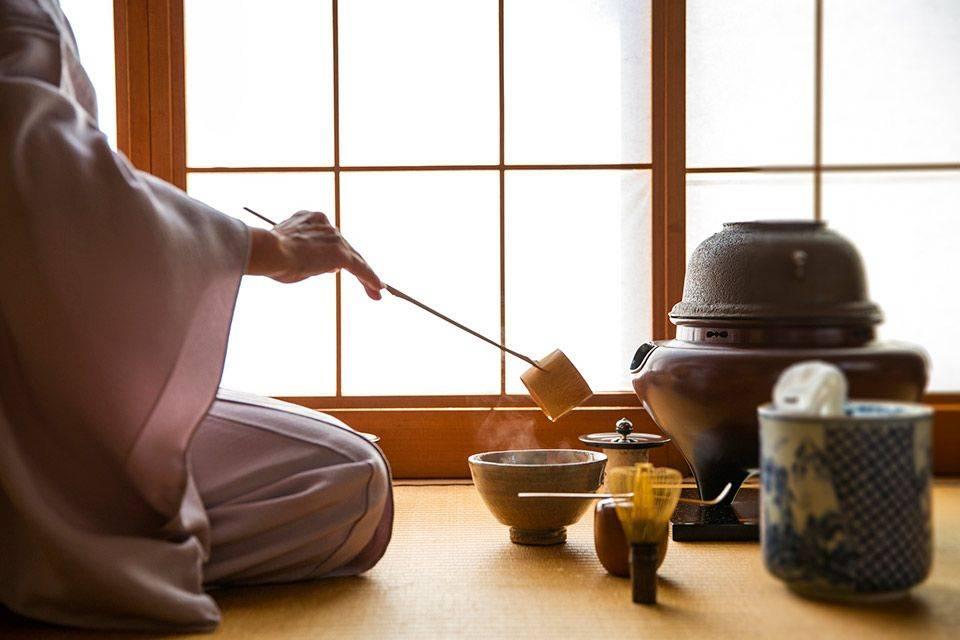 Чайная церемония в японии, специальная японская шкатулка для нее