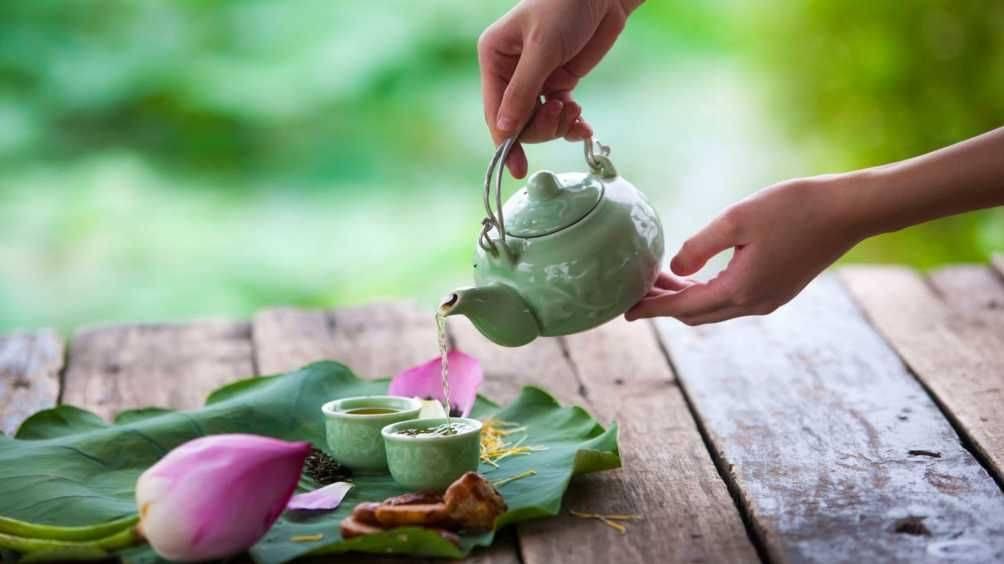 Чай с лотосом: полезные свойства, как заваривать