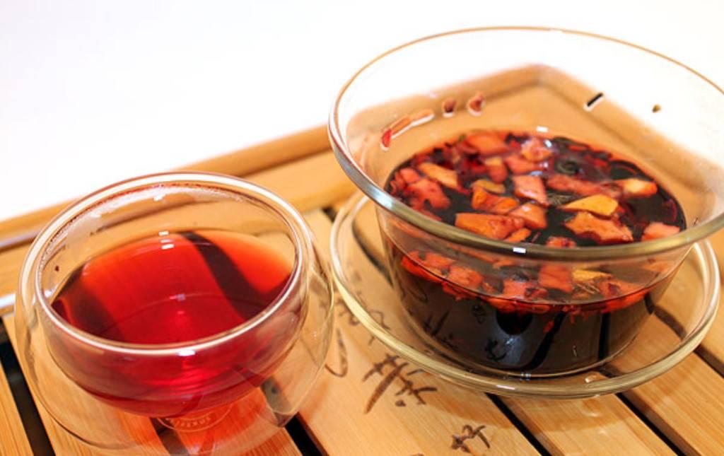9 полезных свойств чая «наглый фрукт»