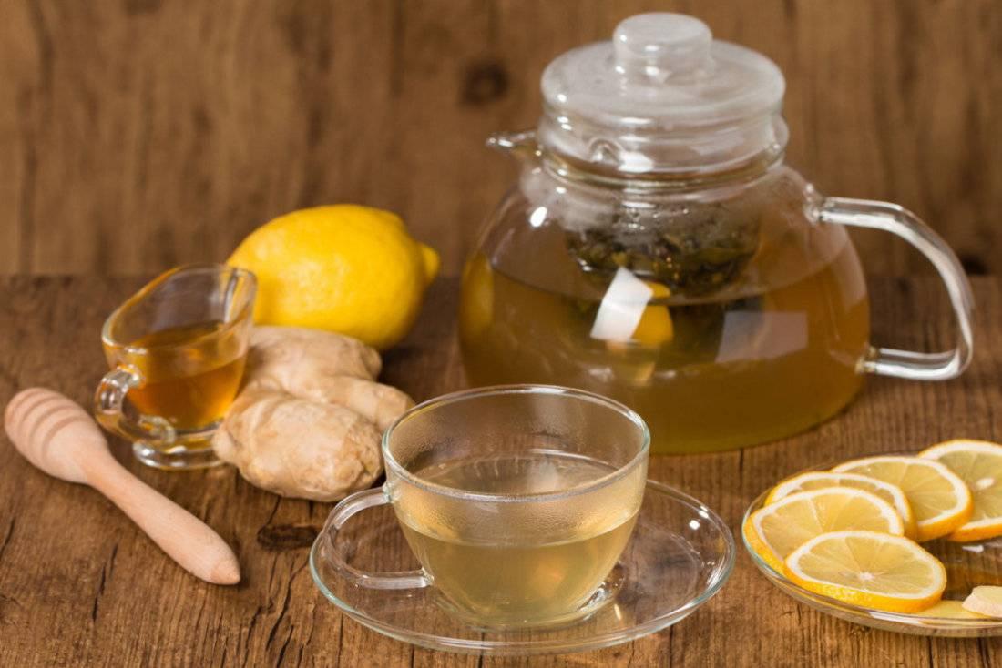 Имбирный чай от простуды и кашля: как приготовить напиток