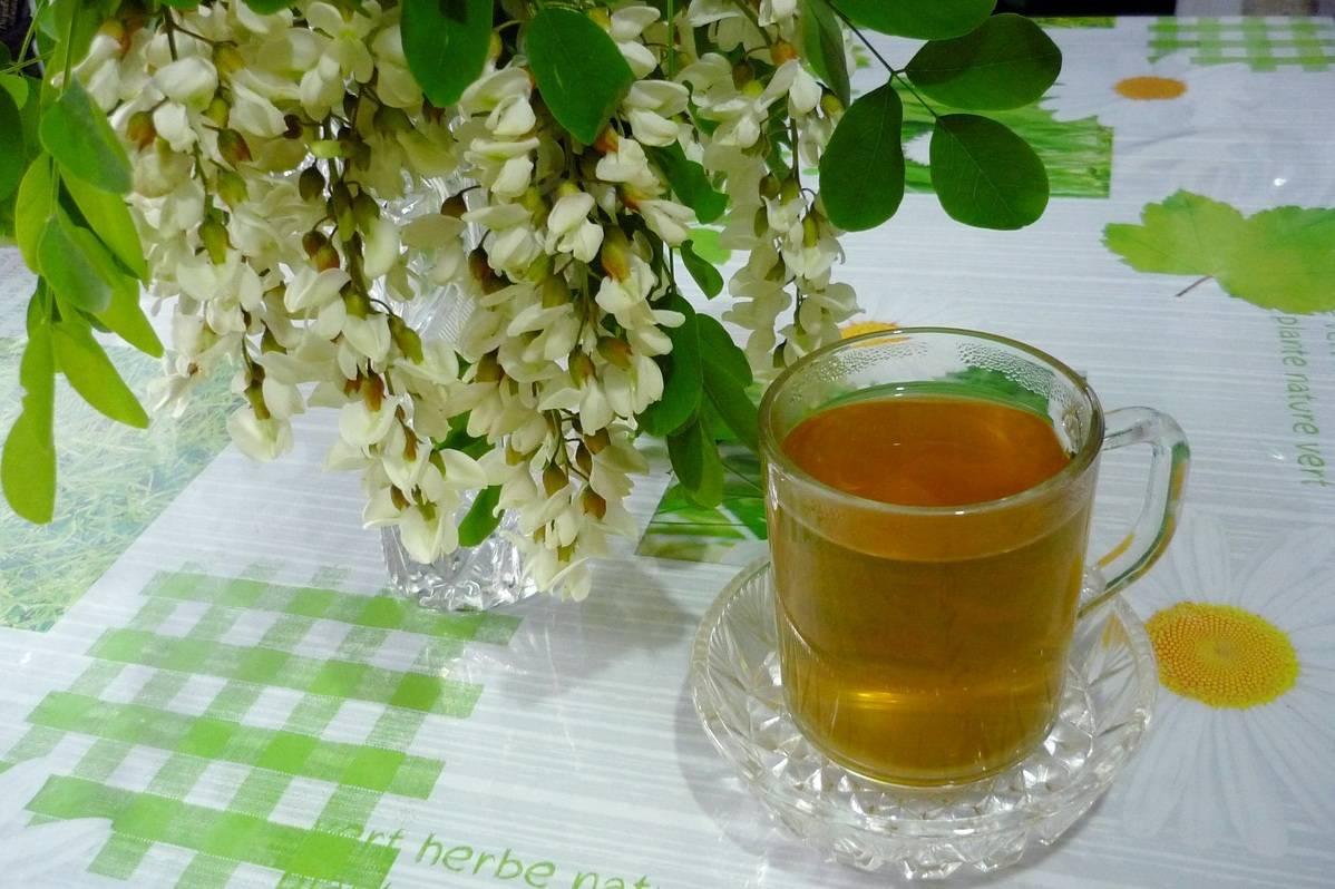 Чай из белой акации