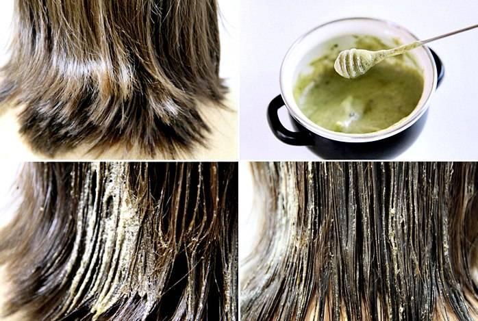 Маска для волос из черного чая