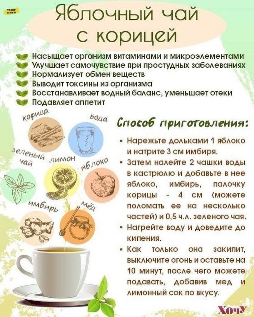 Витаминный чай, полезные сборы для чая из трав