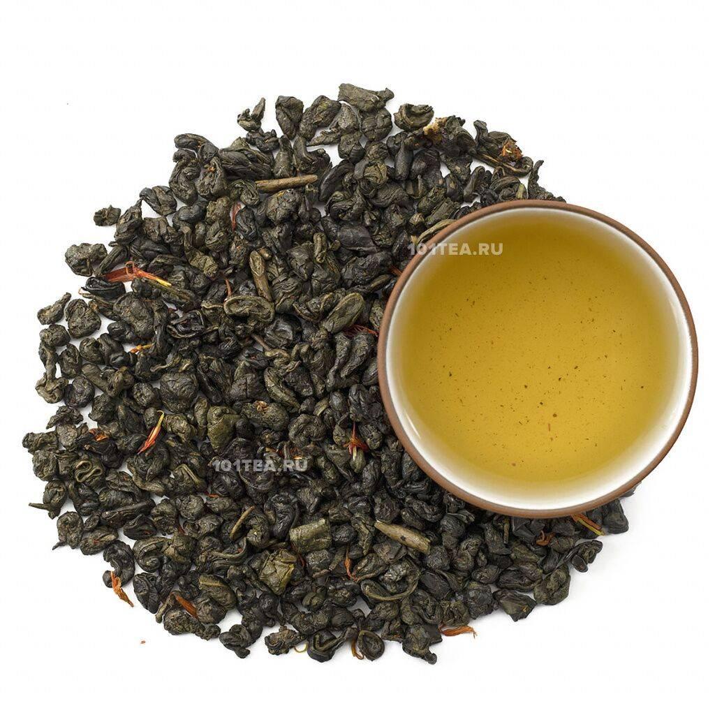 Чай порох (ганпаудер): полезные свойства напитка