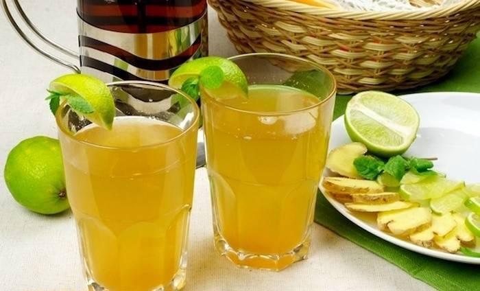 Как приготовить зеленый чай для похудения с имбирем и лимоном?   похудение тут
